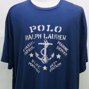POLO Ralph Lauren Mens Anchor Coastal Patrol SHIRT